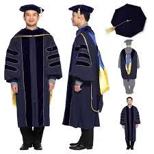 graduation gown rental of california phd regalia rental keeper set