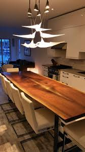Walnut Slab Table by Live Edge Table Black Walnut Table Wood Slab Table Black