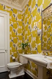 lust worthy statement bathroom wallpapers