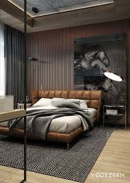 leather walls bedroom masculine guset bedroom with textured walls also faux