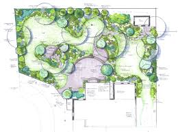 garden layout plans inspiring landscape patio designs living gardens va md and dc