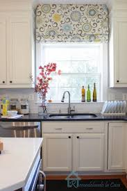 kitchen literarywondrous kitchen window treatment ideas photo