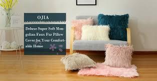 light pink fur blanket amazon com ojia deluxe home decorative super soft plush mongolian
