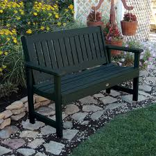 Plastic Feet For Outdoor Furniture by Highwood Lehigh Recycled Plastic Slat Bench Hayneedle