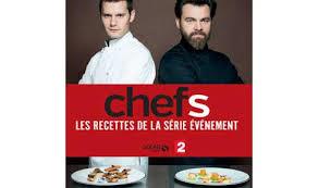 fr2 recettes de cuisine livre recettes série chefs de 2 et le chef