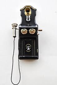 antique wall telephone lm ericsson stockholm c 1895 ebay