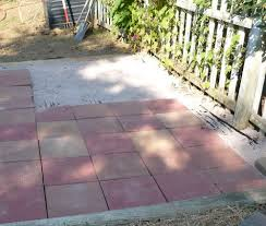 laying a paver patio how to install paver patio steps home design ideas