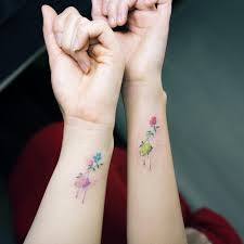 40 and tiny floral tattoos for tattooblend