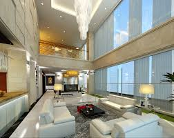 detail luxury penthouse 3d model interior materials max ar vr