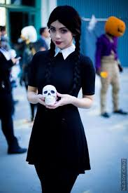 Halloween Costume Wednesday Addams Character Wednesday Addams U0027the Addams Family