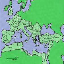 Roman Map Ancient Roman Empire Map By Senshistockart On Deviantart