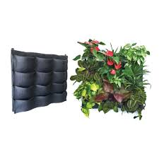 Wall Mount Planter by Amazon Com Florafelt 12 Pocket Vertical Garden Planter Patio