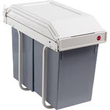 poubelle pour meuble de cuisine poubelle de cuisine manuelle hailo collection avec poubelle