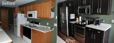 staining kitchen cabinets with gel stain kitchen before and after gel staining of cabinets