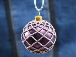 free beaded ornament patterns beaded ornament cover by