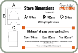 charnwood c5 5kw stove 185 245 materials voucher to use at