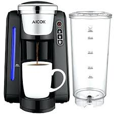 Brentwood Single Cup Coffee Maker With Plus Single Serve Coffee