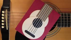 guitar card tutorial