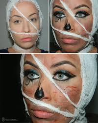 makeup tutorial for halloween mummy halloween makeup tutorial fashionisers