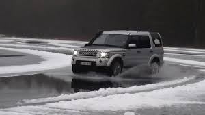 land rover lr4 white 2016 land rover adventure club finland 2016 u2013 snow u0026 ice driving youtube