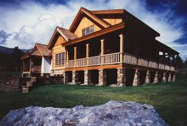 log homes with wrap around porches hearthstone log and timber frame homes gallery log
