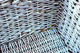 wicker basket makeover u2013 lemons to lovelys