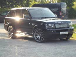 land rover sport cars used 2007 land rover range rover sport tdv8 sport hse hawke kit