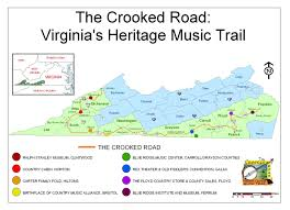 Road Map Virginia by File Crooked Road Map Jpg Wikimedia Commons