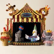 circus puppets find more adorable restoration hardware circus puppet theatre and