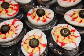 bloodshot eyeball deviled eggs kath u0027s kitchen sync