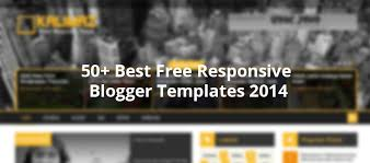 50 best free responsive blogger templates 2014 creativecrunk