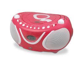 poste radio pour cuisine metronic 477108 gulli radio lecteur cd mp3 portable pour
