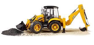 bruder excavator bruder jcb 5cx eco backhoe loader play vehicles amazon canada