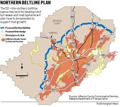 Jefferson County Zip Code Map by Questions Persist As Northern Beltline Construction Proceeds Al Com
