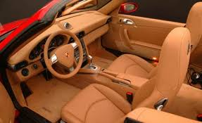orange porsche 911 convertible 2006 porsche cayman interior image 17