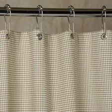 Brown Gingham Curtains Shower Curtains Southern Ticking Co