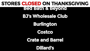 dozens of retailers plan to stay closed on thanksgiving tulsa s