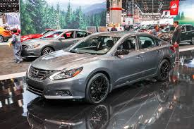 nissan altima 2017 black edition nissan brings special midnight edition package to six models