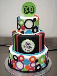 mens 30th birthday cake designs s