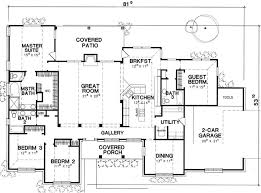 House Plans 2500 Square Feet 47 Best House Plans Images On Pinterest Country Houses Dream