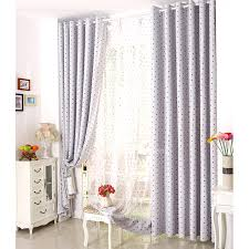 Insulated Thermal Curtains Grey Poly Cotton Insulated Room Thermal Curtains