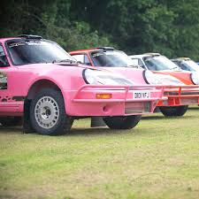 pink porsche 911 carbon fibre roof vent tuthill porsche