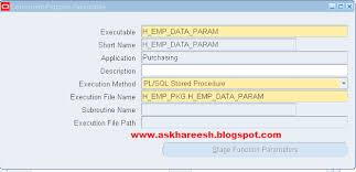 tutorial oracle stored procedure pl sql stored procedure registration with parameters askhareesh