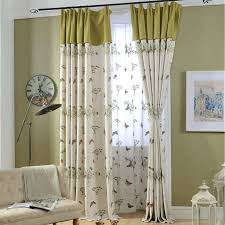 Curtains For Living Room Beige And Lime Green Butterfly Botanical Living Room Curtains