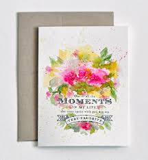 painting greeting cards in watercolor painted watercolor wedding card pink flowers anniversary card