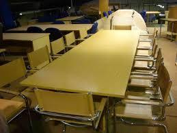 Oak Boardroom Table Used Boardroom U0026 Meeting Room Furniture Chrystal U0026 Hill Ltd