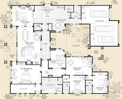courtyard floor plans home architecture luxury modern courtyard house plan custom