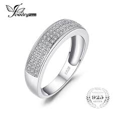 channel set wedding band jewelrypalace anniversary channel set wedding band eternity ring