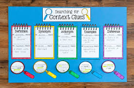crafting connections context clues anchor chart freebie included