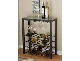 metal wine rack table gettington alcove wine rack table